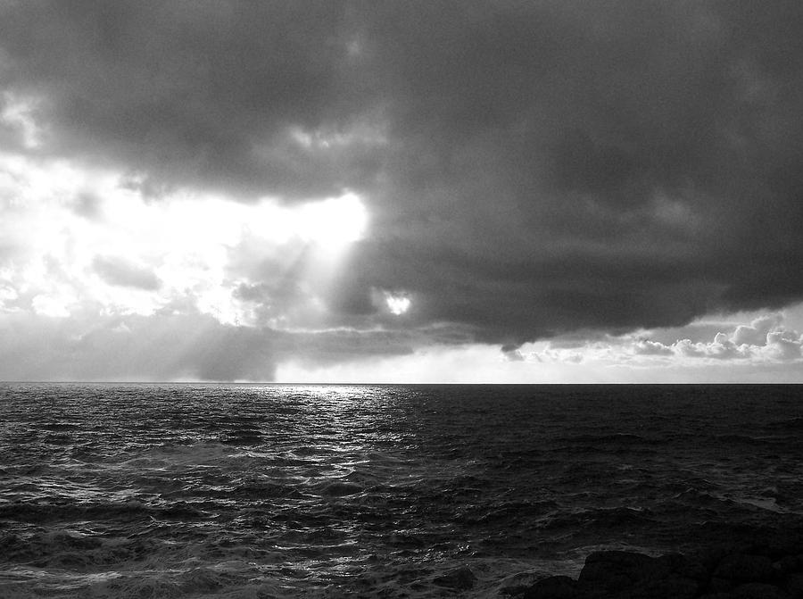 Ocean Photograph - The Opening by Heather L Wright