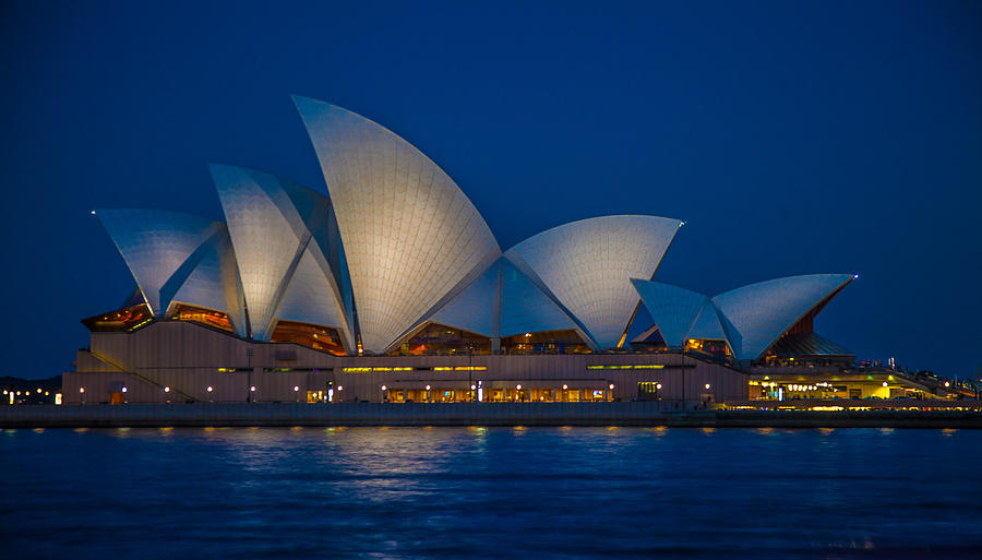 Sydney Opera House Photograph - The Opera House by Dasmin Niriella