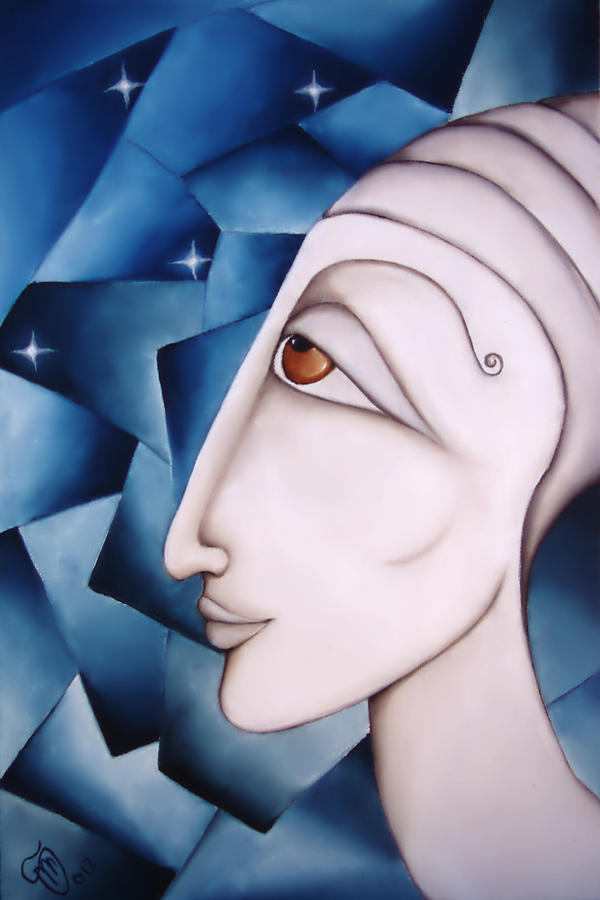 Oracle Painting - The Oracle by Simona  Mereu