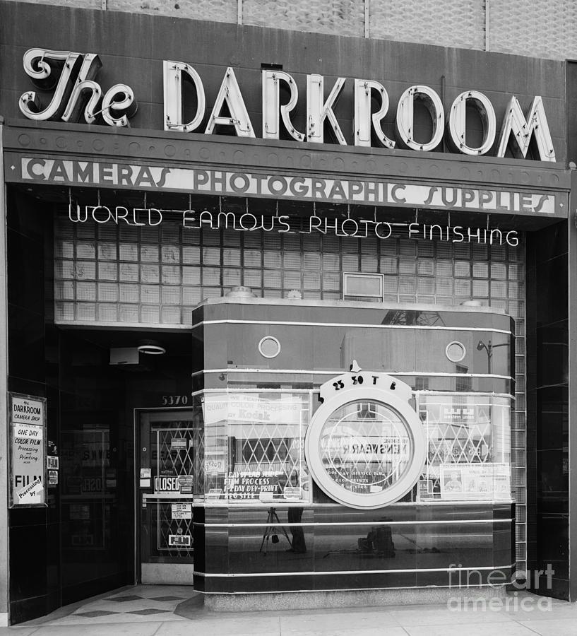 Vintage Photograph - The Original Darkroom by Edward Fielding