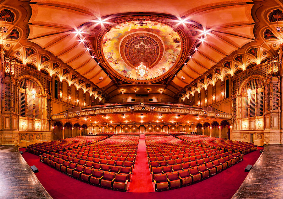 Theatre Photograph - The Orpheum Theatre by Alexis Birkill