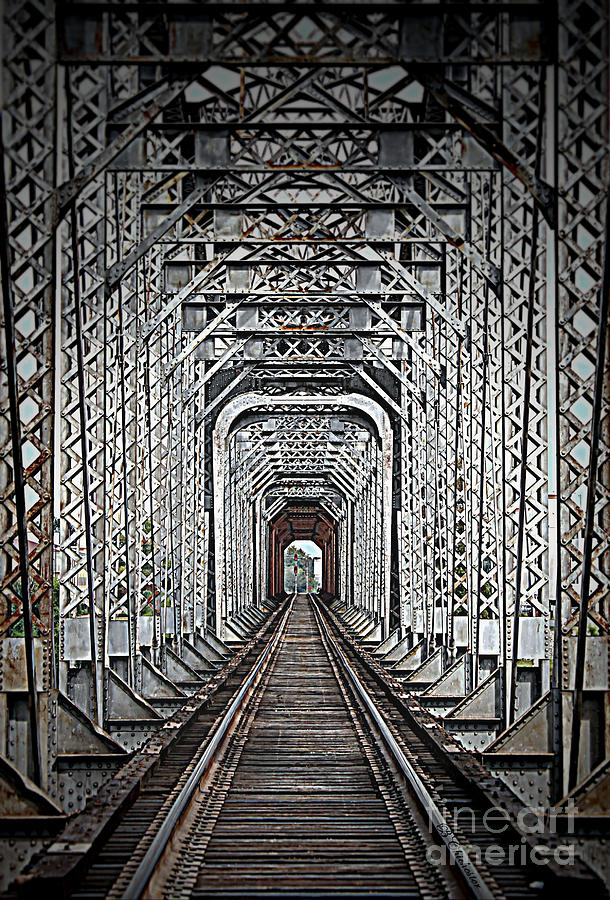 Rail Road Photograph - The Other Side  by Barbara Chichester