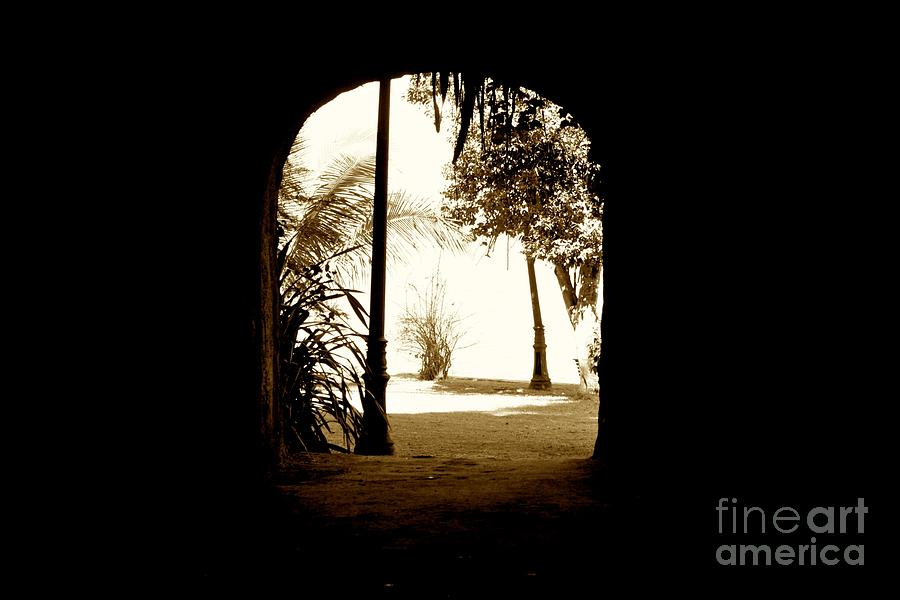 Tunnel Photograph - The Other Side by Will Cardoso