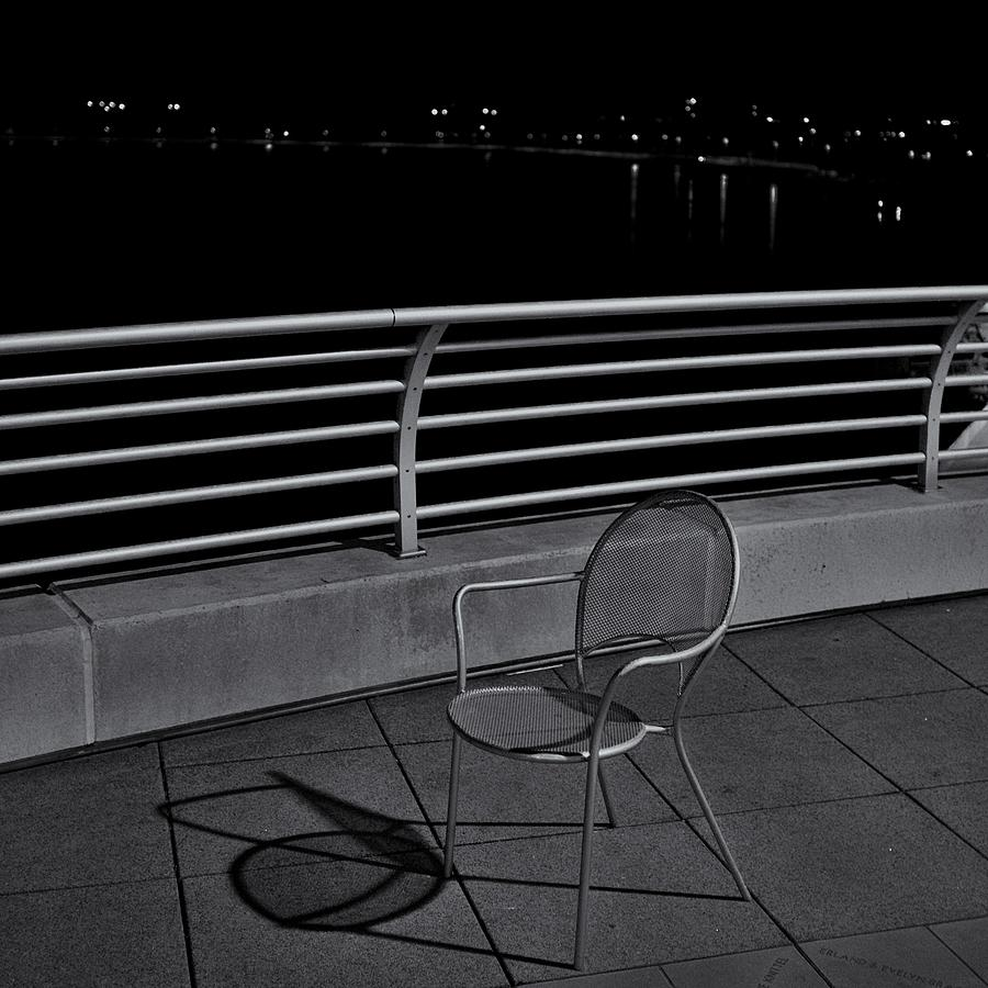 Chair Photograph - The Outcast by Trever Miller