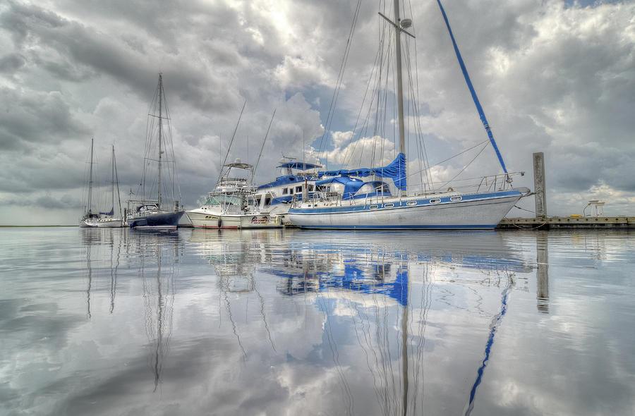 Sailboats Photograph - The Outer Pier by John Adams