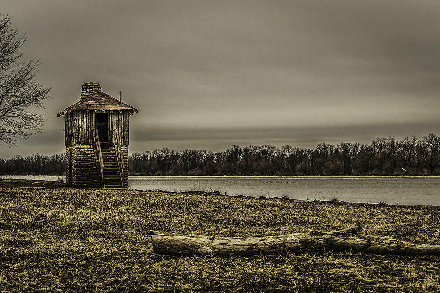 Mississippi River Photograph - The Outpost by Kristy Creighton