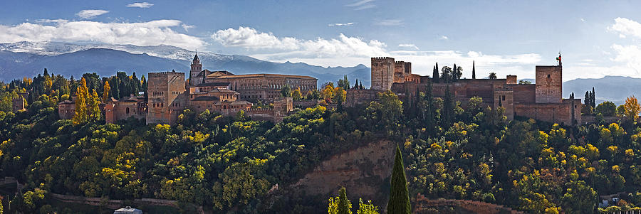 The Palace of the Alhambra by Levin Rodriguez