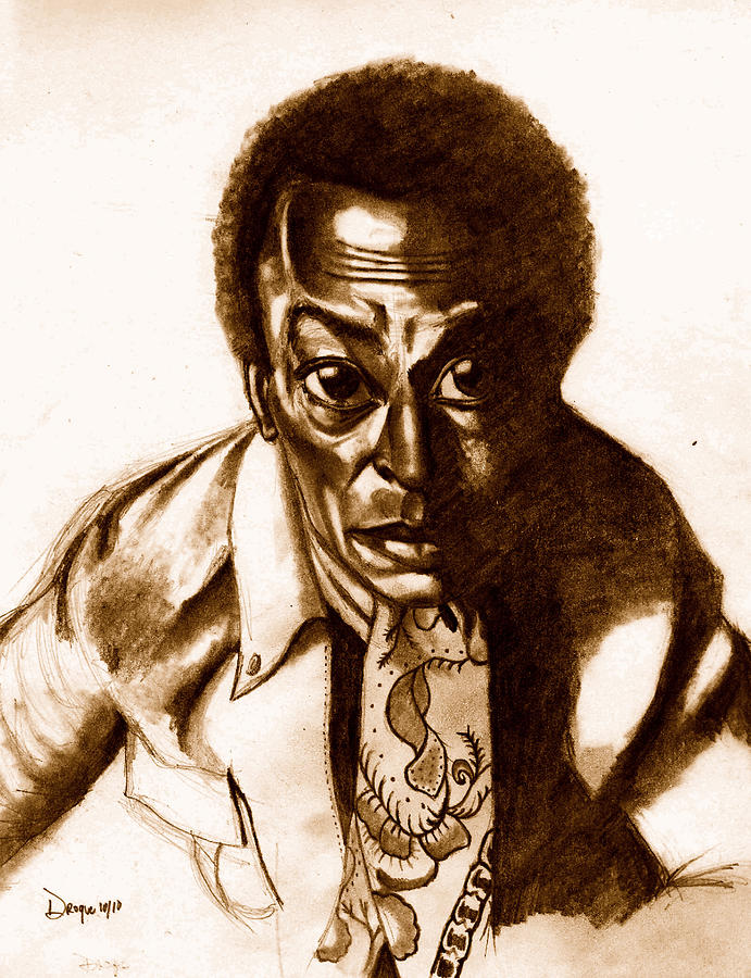 Miles Davis Drawing - The Pan Piper by Dallas Roquemore