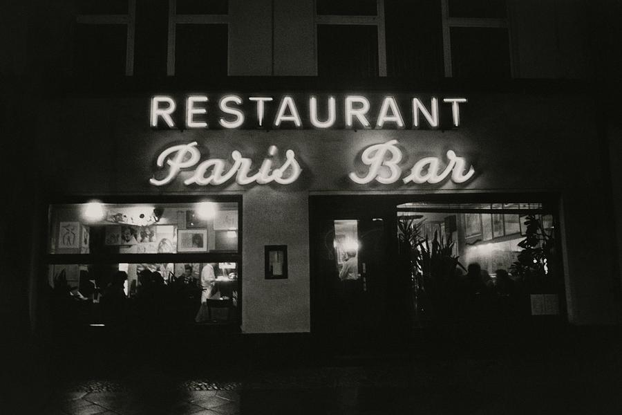 The Paris Bar Photograph by Dominique Nabokov