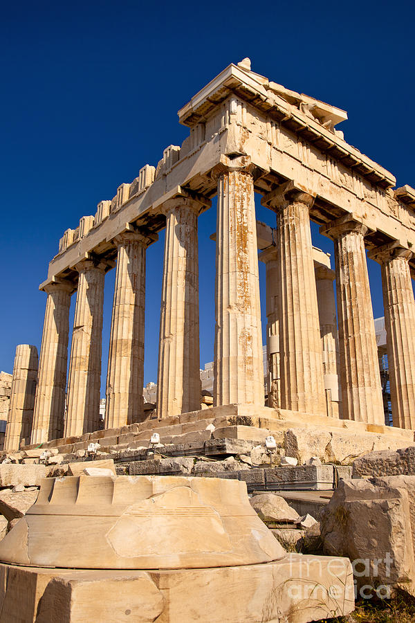 Parthenon Photograph - The Parthenon by Brian Jannsen
