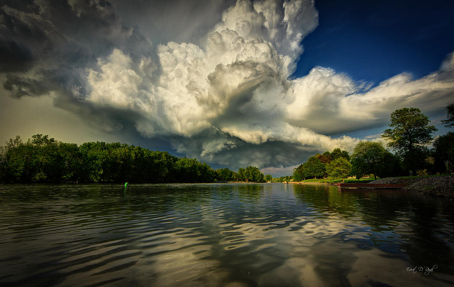 Storm Photograph - The Passing Storm by Everet Regal