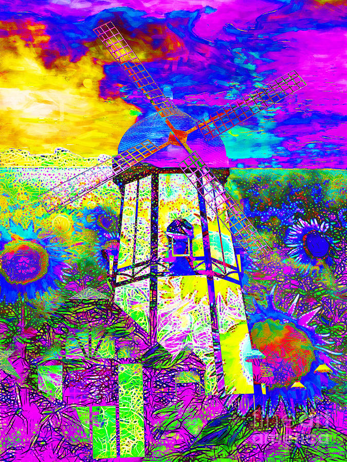 Flower Photograph - The Pastoral Dreamscape 20130730 by Wingsdomain Art and Photography