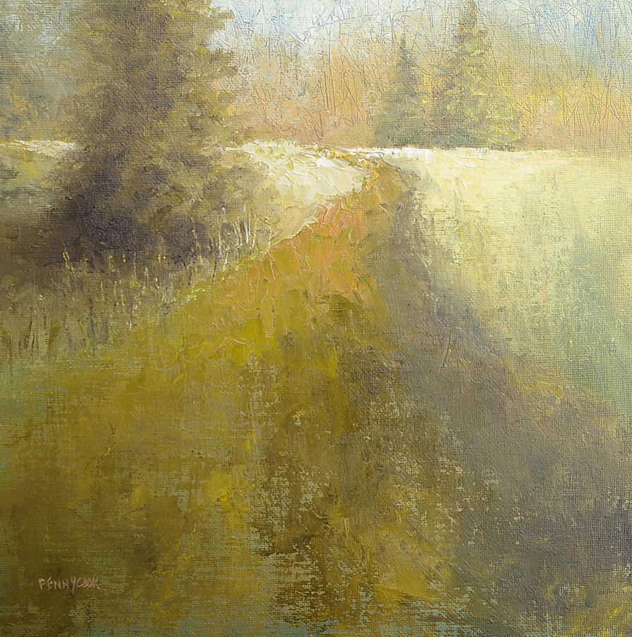 Oil Painting - The Path by Bob Pennycook