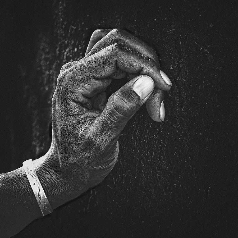 Man Photograph - The Patient Husband by Piet Flour