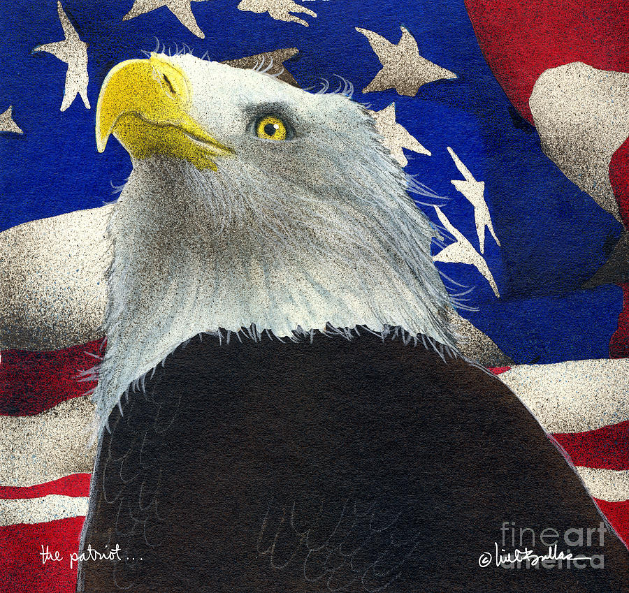 Will Bullis Painting - The Patriot... by Will Bullas