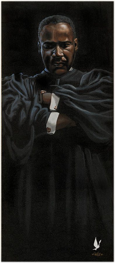 Dr. Martin Luther King Jr. Painting - The Peace Keeper by Jerome White