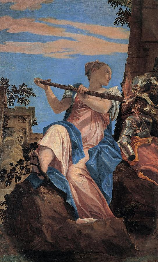 Cinquecento Painting - The Peace by Paolo Veronese