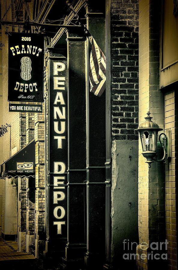 Fine Photograph - The Peanut Depot by Ken Johnson