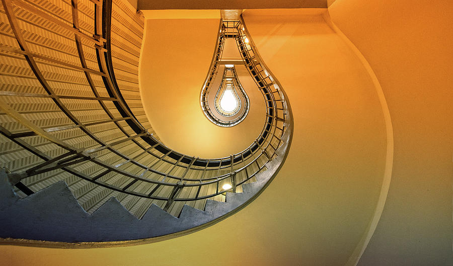 Stairs Photograph - The Pear by Anette Ohlendorf
