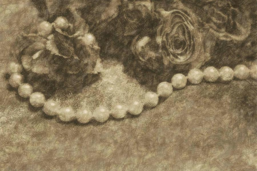The Pearl Necklace Drawing