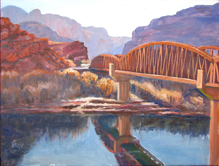 The Pedestrian Bridge by Page Holland