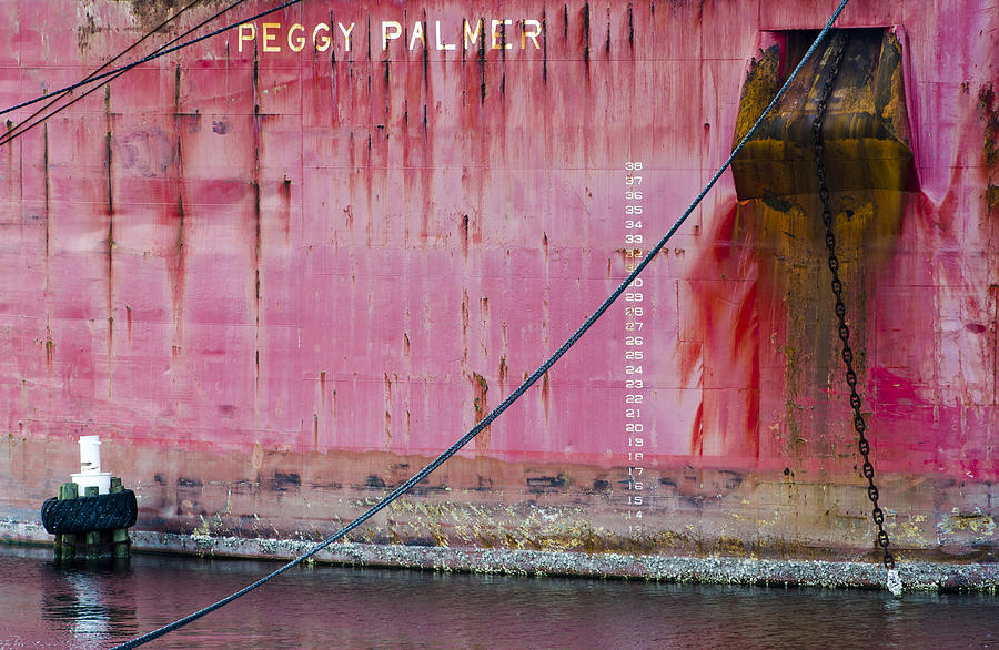 Peggy Palmer Photograph - The Peggy Palmer Barge by Carolyn Marshall