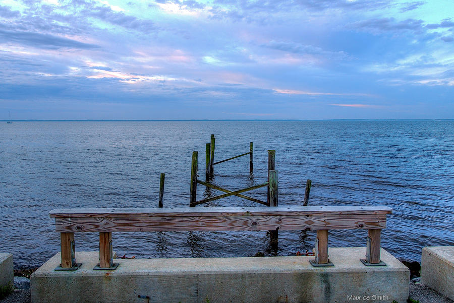 Landmark Photograph - The Pier That Once Was by Maurice Smith