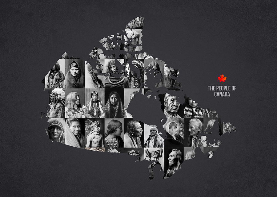 Indian Photograph - The People Of Canada by Aged Pixel