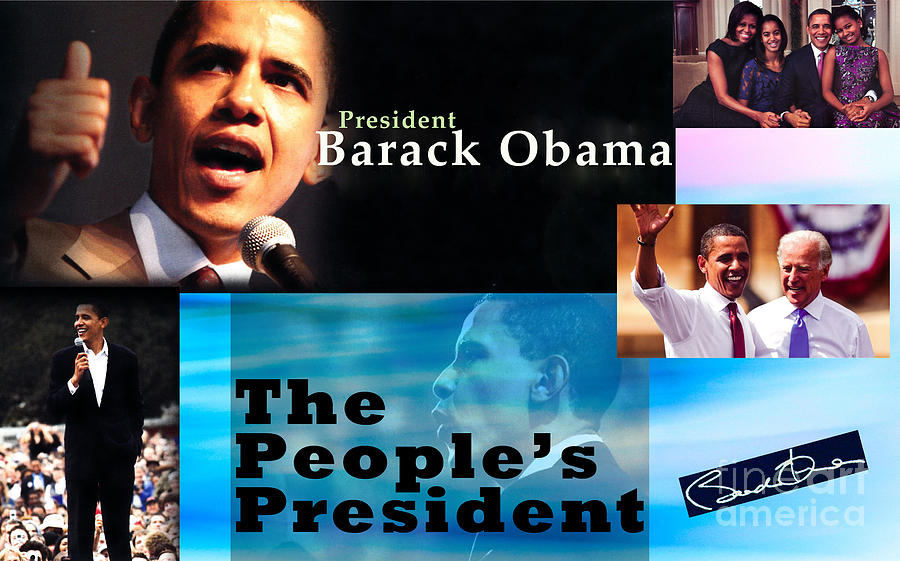 President Photograph - The Peoples President Still by Terry Wallace