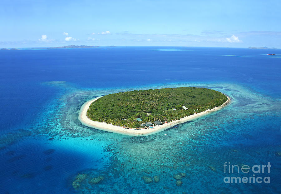 Fiji Photograph - The Perfect Island by Lars Ruecker