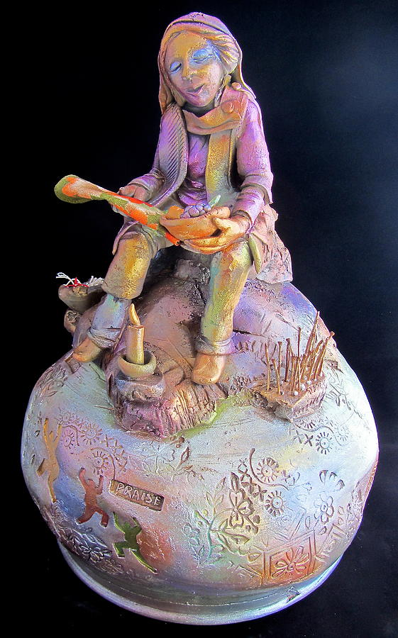 Religious Ceramic Art - The Perfect Woman by Gary Wilson