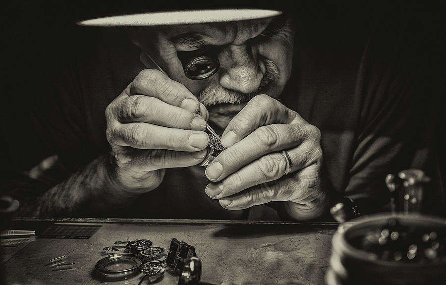 People Photograph - The Perfectionist by Mandru Cantemir
