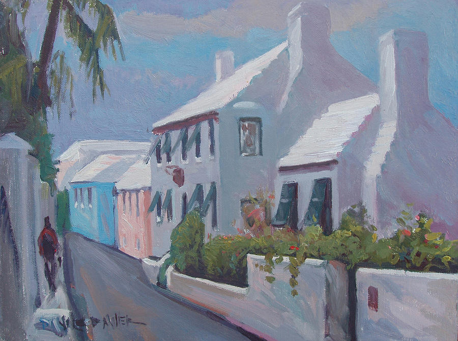 Bermuda Painting - The Perfume Factory by Dianne Panarelli Miller