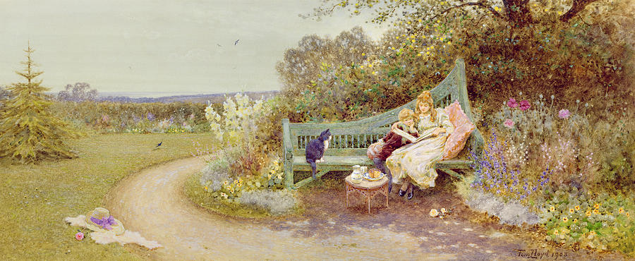 The Picture Book Painting By Thomas James Lloyd