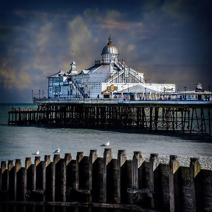 Pier Photograph - The Pier At Eastbourne by Chris Lord