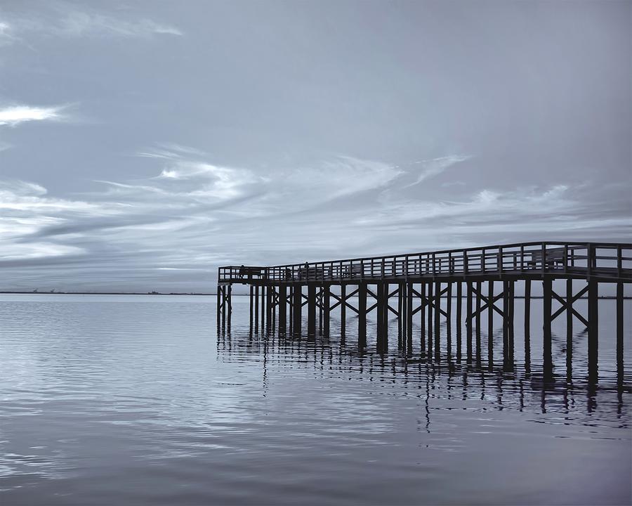 Pier Photograph - The Pier by Kim Hojnacki