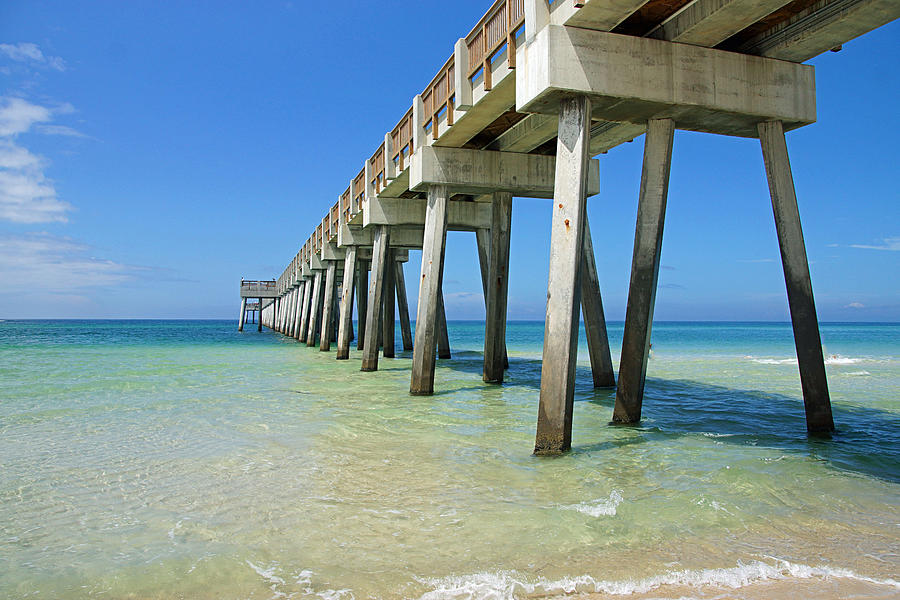 Florida Photograph - The Pier by Thomas Fouch
