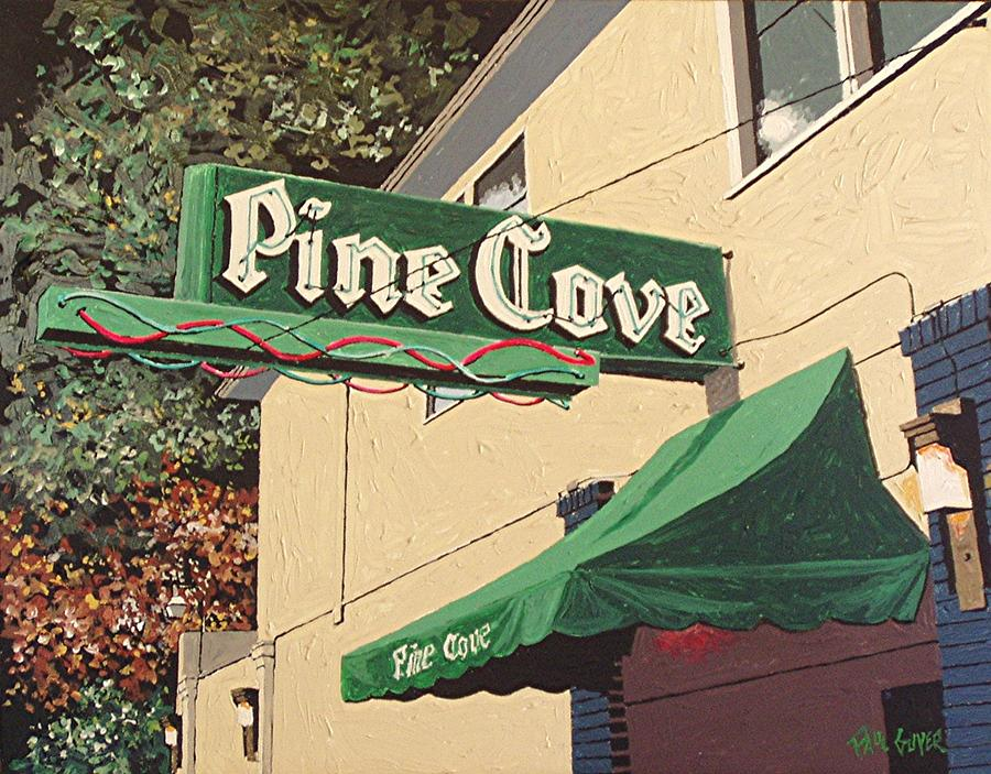 Sacramento Painting - The Pine Cove by Paul Guyer