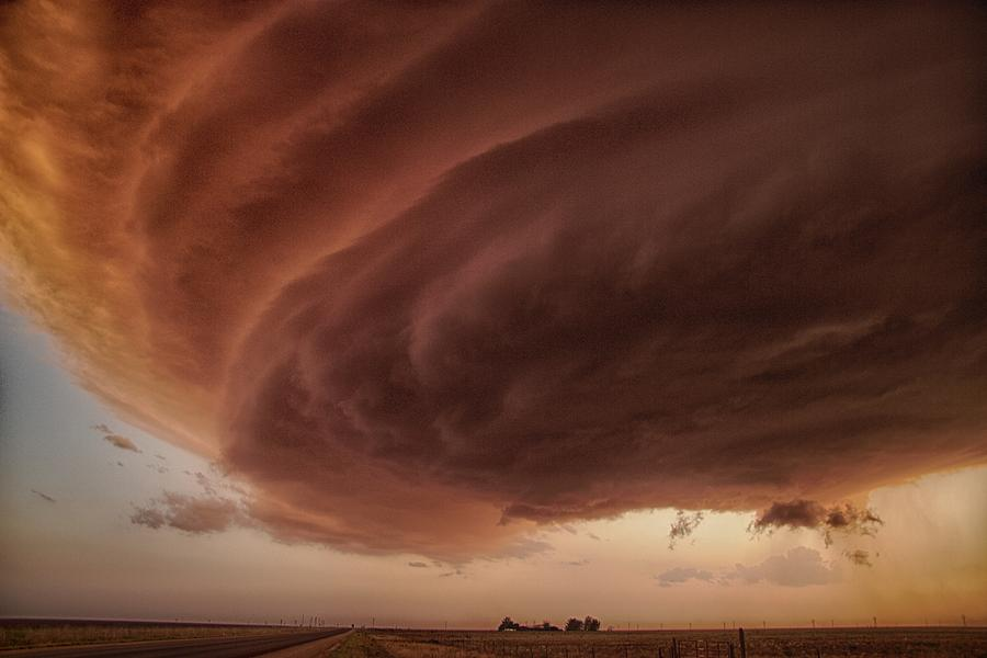 Sky Photograph - The Pink Storm by Alexander Fisher
