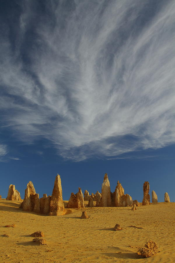 The Pinnacles Photograph - The Pinnacles 2am-111015 by Andrew McInnes