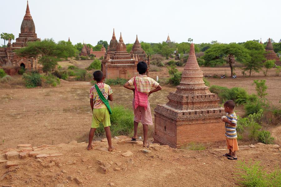 The Plains Of Bagan Photograph by Zhang Bo