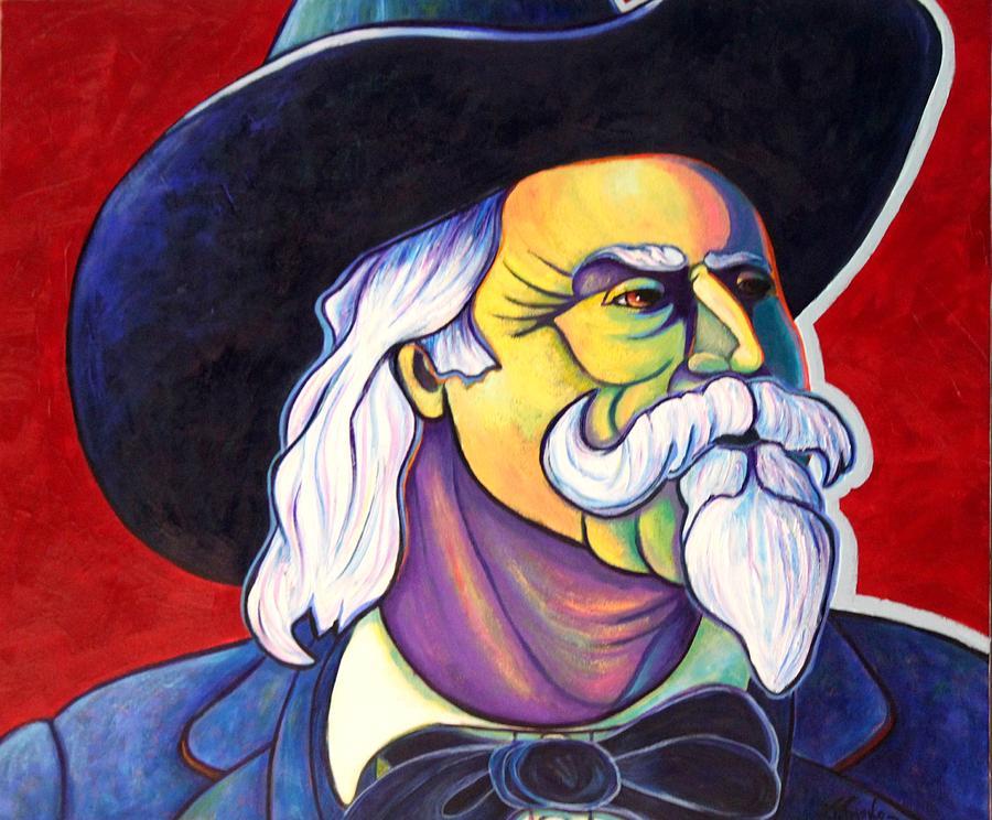 Western Hero Painting - The Plainsmen - Buffalo Bill Cody by Joe  Triano