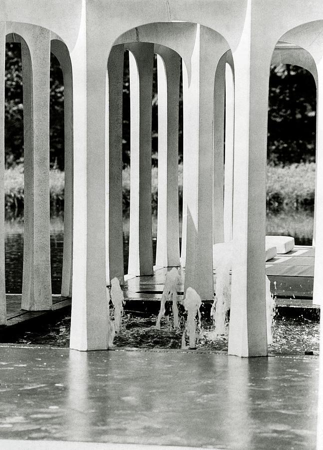 The Pleasure Pavilion In Connecticut Photograph by Horst P. Horst