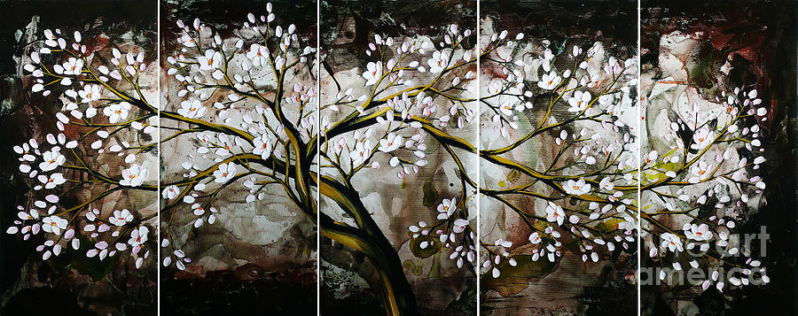 The Plum Blossom 001 Painting by Willson Lau