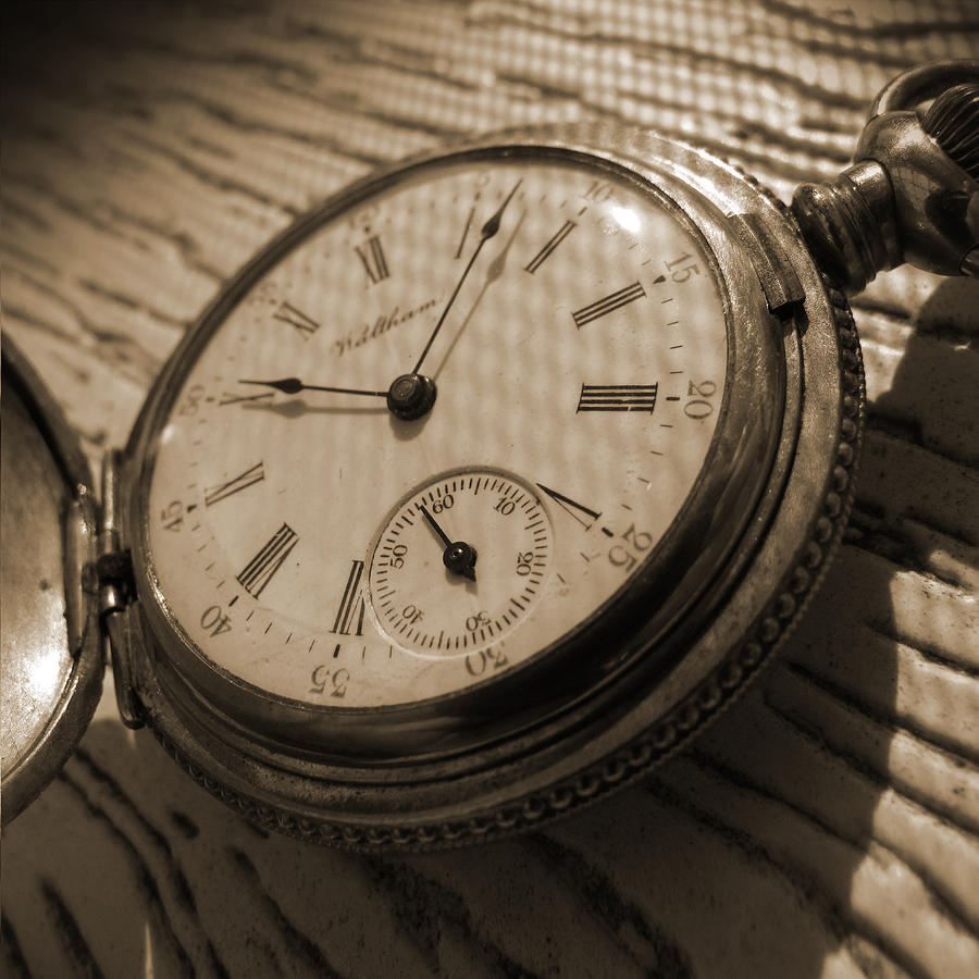 Pocket Watch Photograph - The Pocket Watch by Mike McGlothlen