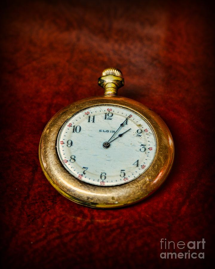 Paul Ward Photograph - The Pocket Watch by Paul Ward