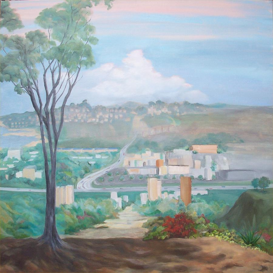 Viewpoint Painting - The Point by Irene Corey