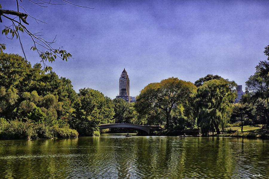 Central Park Photograph - The Pond - Central Park by Madeline Ellis