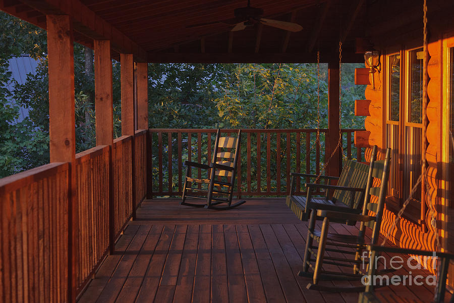 Porch Photograph - The Porch Beckons by Kay Pickens