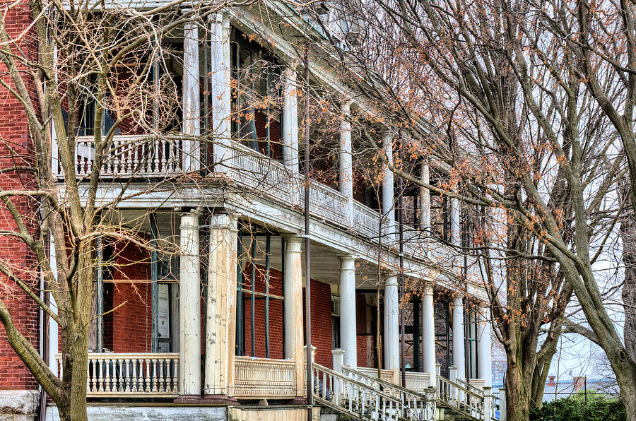 Boq Photograph - The Porch by JC Findley